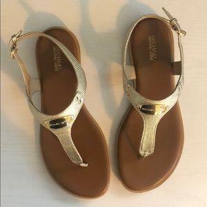 Michael Kors Sandals, Pale Gold